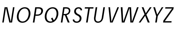 JosefPro-LightItalic Font UPPERCASE