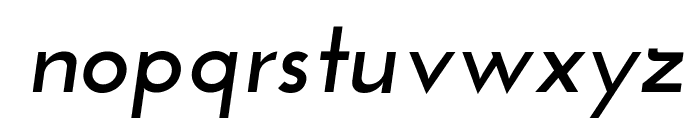 Josefin Sans Bold Italic Font LOWERCASE
