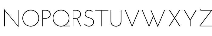 Josefin Sans Light Font UPPERCASE