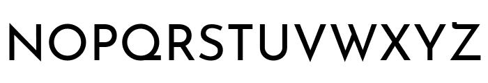 Josefin Sans Regular Font UPPERCASE