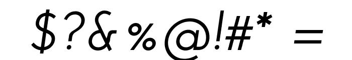 Josefin Sans SemiBold Italic Font OTHER CHARS