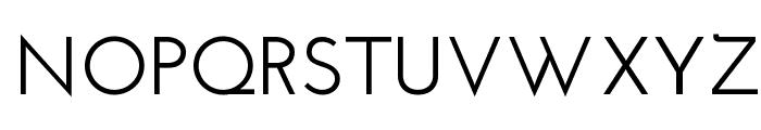 Josefin Sans SemiBold Font UPPERCASE