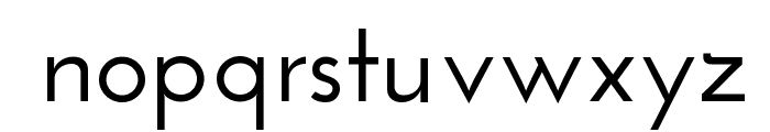 Josefin Sans SemiBold Font LOWERCASE