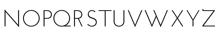 Josefin Sans Std Light Font UPPERCASE