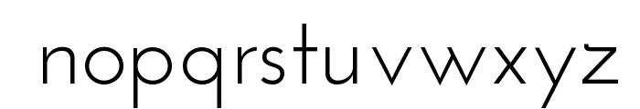 Josefin Sans Font LOWERCASE
