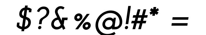 Josefin Slab Bold Italic Font OTHER CHARS