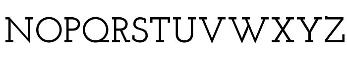 Josefin Slab SemiBold Font UPPERCASE