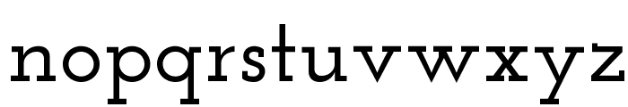 Josefin Slab SemiBold Font LOWERCASE