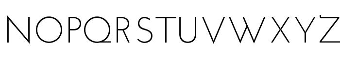 JosefinSansStd-Light Font UPPERCASE