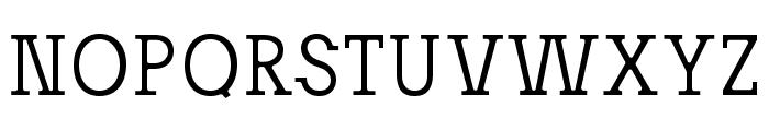 Josefov-Light Font UPPERCASE
