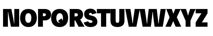 Josefreduced-Black Font UPPERCASE