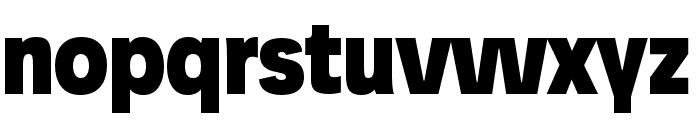 Josefreduced-Black Font LOWERCASE