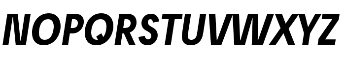 Josefreduced-BoldItalic Font UPPERCASE