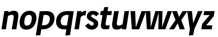 Josefreduced-BoldItalic Font LOWERCASE