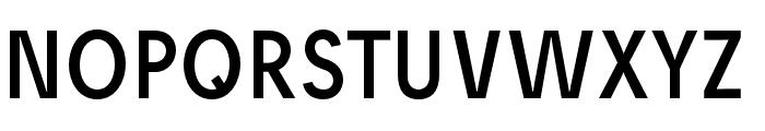 Josefreduced Font UPPERCASE