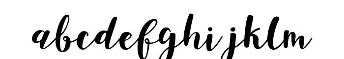 JoshanDemo Font LOWERCASE