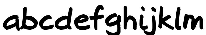 Josschrift Bold Font LOWERCASE