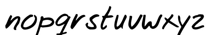 Josschrift Font LOWERCASE