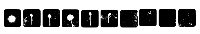 Jot Sp Inverted Regular Font OTHER CHARS