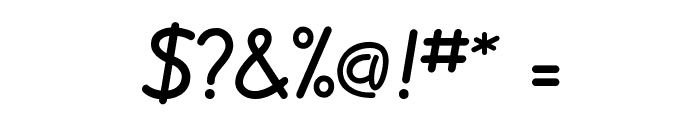 JottFLF-Bold Font OTHER CHARS