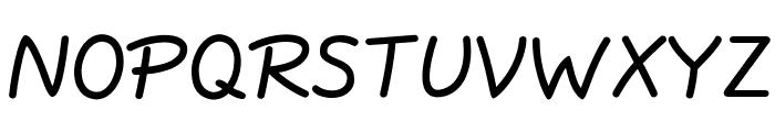 JottFLF-Bold Font UPPERCASE