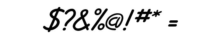 JottFLF-BoldItalic Font OTHER CHARS