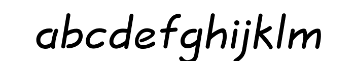 JottFLF-Bold Font LOWERCASE