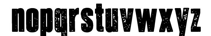 Journal du Soir Font LOWERCASE