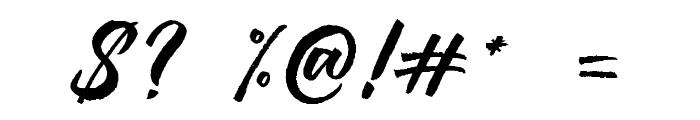 Jouska-Regular Font OTHER CHARS