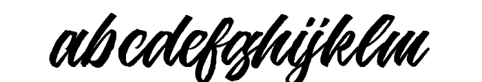 Jouska-Regular Font LOWERCASE