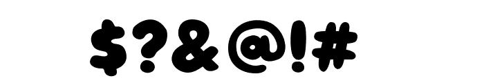 Jouzu Regular Font OTHER CHARS