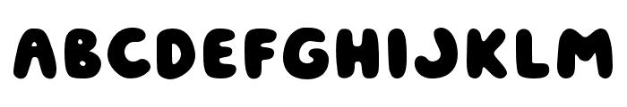 Jouzu Regular Font LOWERCASE