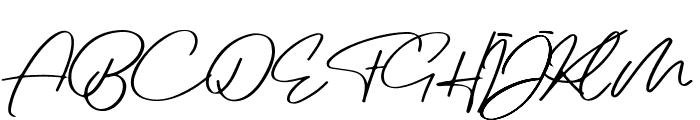 Jovanka Demo Regular Font UPPERCASE