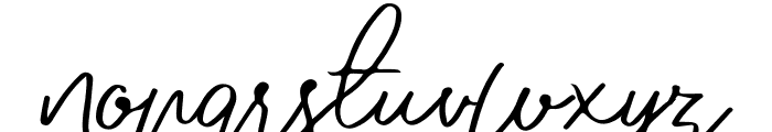 Jovanka Demo Regular Font LOWERCASE