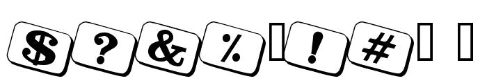 JoyCards Font OTHER CHARS