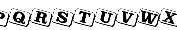 JoyCards Font UPPERCASE