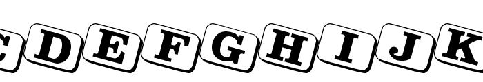 JoyCards Font LOWERCASE