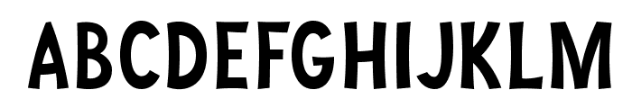 JoyForFun-Normal Font UPPERCASE