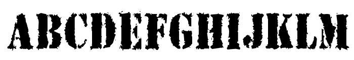 Joybuzzer Font UPPERCASE