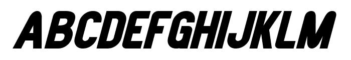 Joystick Bold Italic Font UPPERCASE
