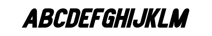 Joystick Bold Italic Font LOWERCASE