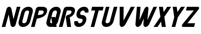 Joystick Italic Font UPPERCASE