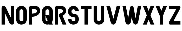 Joystick Font UPPERCASE