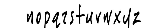 joeHand 1 Font LOWERCASE