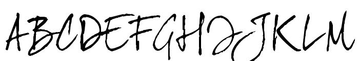 joeHand 2 Font UPPERCASE