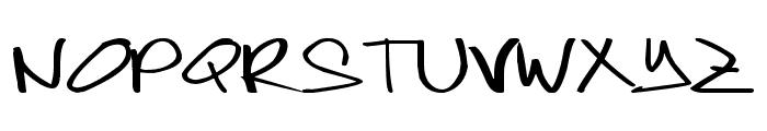 joeytisoy Font UPPERCASE