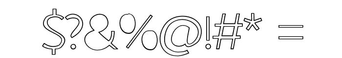 johnshandwriting Font OTHER CHARS