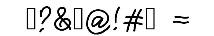 joxigraf Font OTHER CHARS