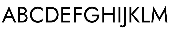 Jost Font UPPERCASE