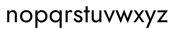 Jost Font LOWERCASE